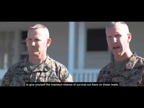 DFN: PSA 1st Marine Division Motorcycle Safety Campaign,CAMP PENDLETON,CA, UNITED STATES, 01.30.2018