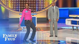 Dance Battle Round 2 - Rubin Vs Craig!! | Family Feud