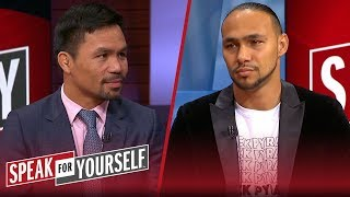 Keith Thurman doubles down on saying he's going to retire Manny Pacquiao   SPEAK FOR YOURSELF