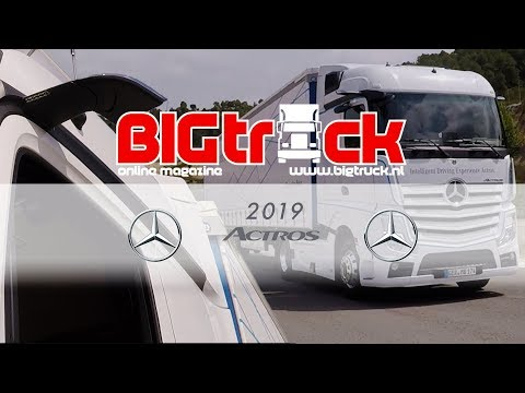 Driving the new Mercedes-Benz Actros