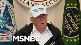 President Donald Trump's Latest Argument For The Wall Is...The Wheel? | All In | MSNBC