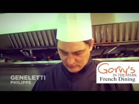 One Star Michelin Chef Geneletti Philippe @ Garvy's French Dining