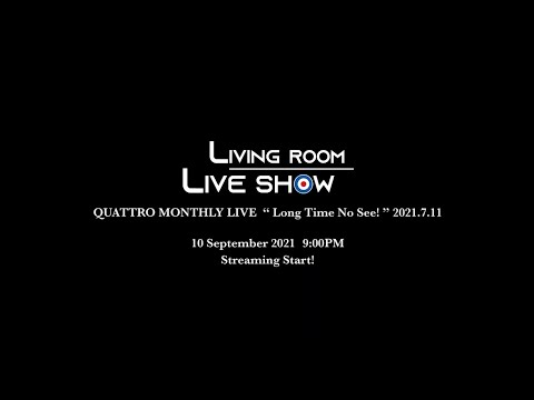 """THE COLLECTORS streaming rock channel """"LIVING ROOM LIVE SHOW"""" Vol.13 trailer"""