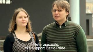 OFFICIAL Baltic Pride 2013 Vilnius Promotional Video (with English subtitles)