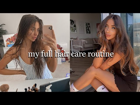 MY HAIR CARE ROUTINE: How I grew healthy long hair & how I style it 💖