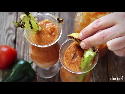 Drink Recipes - How to Make Grilled Gazpacho Bloody Mary