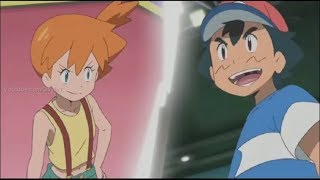 Pokemon Sun and Moon - Misty's Mega Gyarados vs Ash's Pikachu [Full HD] English Subs!