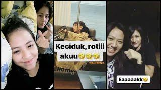 Snapgram Member JKT48 ( Kyla, Ayana & Ikha ) 2018-03-19