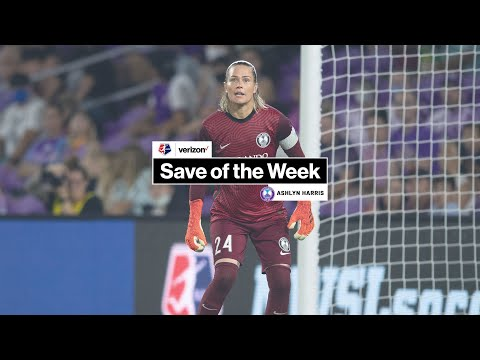 Verizon Save of the Week | Ashlyn Harris, Orlando Pride | Week 16