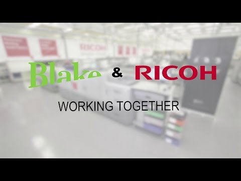Blake and Ricoh Working Together