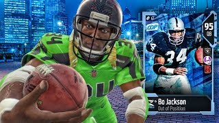 CAUSING RAGE QUIT WITH 95 QB BO JACKSON ON MUT SQUADS! Madden 18 Ultimate Team Gameplay Ep. 14