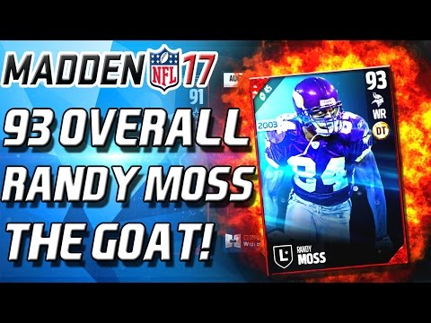RANDY MOSS! 93 OVERALL! BUNDLE TIME! - Madden 17 Ultimate Team New Music Video