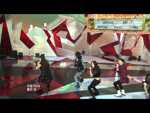 F(X) - LA chA TA, 에프엑스 - 라차타, Music Core 20090926