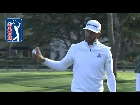 Dustin Johnson highlights   Round 1   AT&T Pebble Beach 2019