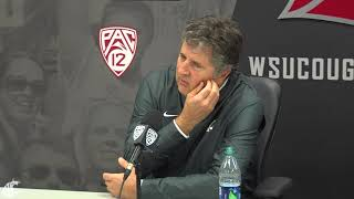 Mike Leach after SJSU 9/9