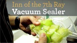 Inside My Kitchen - Sous Vide Vacuum Sealer