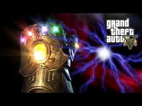 Download GTA 5 - THOR VS THANOS, AVENGERS INFINITY WAR (GTA