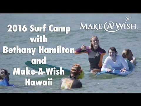 2016 Surf Camp with Bethany Hamilton and Make-A-Wish Hawaii