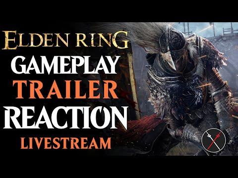 Elden Ring REACTION! Multiplayer CONFIRMED Live from Summer Game Fest 2021