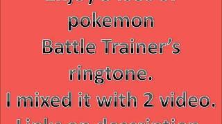 Pokemon Battle Music For Your Ringtone!