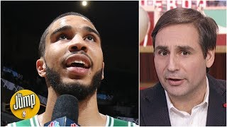 Jayson Tatum's potential is so scary, I'm not comfortable naming his comps - Zach Lowe | The Jump
