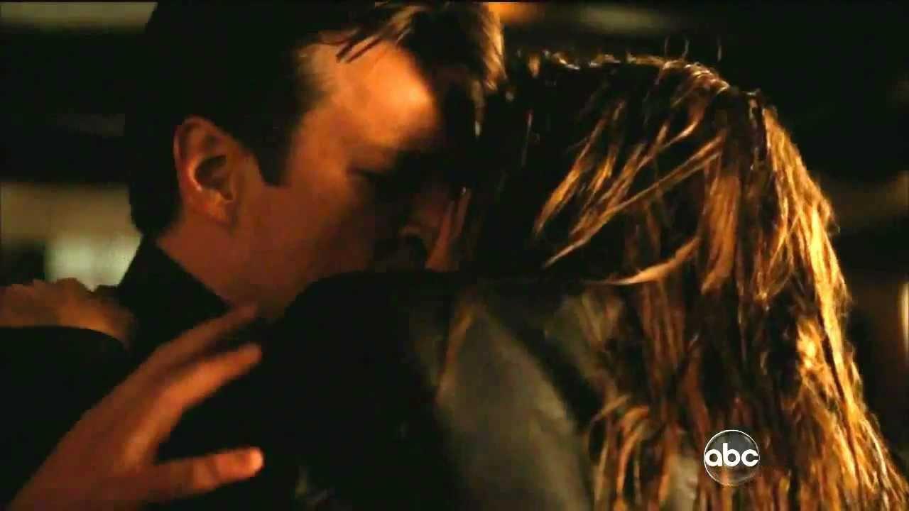 Castle 4x23 Castle Amp Beckett Kiss Always Season