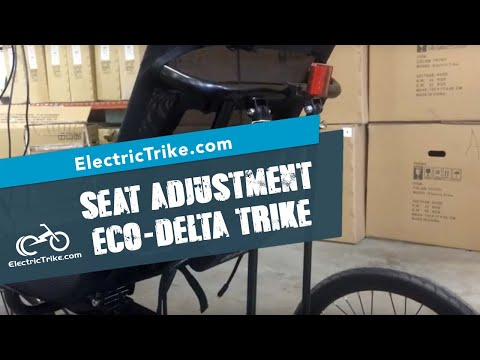 Electric Eco Delta seat-back angle adjustment