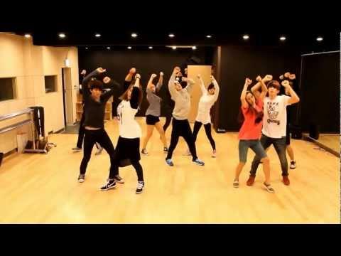 U-KISS - Stop Girl mirrored Dance Practice
