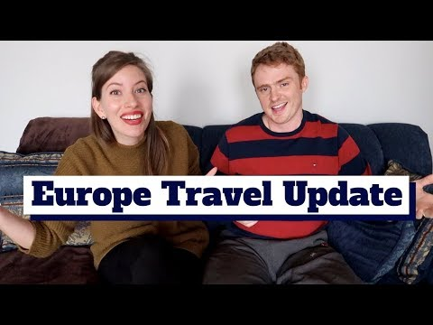 UPDATE - Europe Trip 2018 announcement!