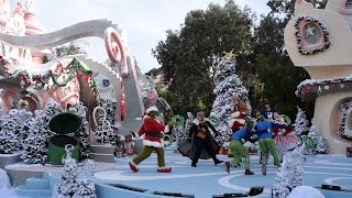The Grinch Invades Whoville During the Studio Tour, Grinchmas 2015, Universal Studios Hollywood