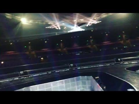 Britney Spears Dancers - Rehearsals/Backstage (October 10, 2017)