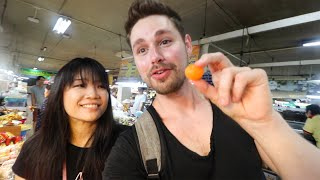 """Trying OVER 20 DISHES in 4 HOURS - A day with """"A CHEF'S TOUR"""" Chiang Mai, THAILAND"""