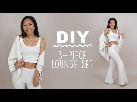 How to sew a 3-piece loungewear set