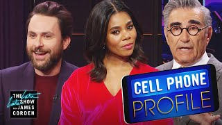 Cell Phone Profile w/ Charlie Day, Regina Hall & Eugene Levy