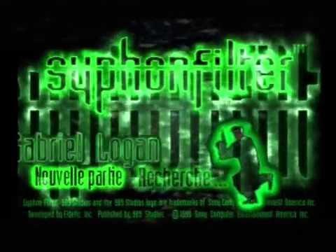 """[Ps1] Introduction du jeu """"Syphon Filter"""" de l'editeur 989 Studios (1999 ..."""