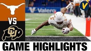 #20 Texas vs Colorado Highlights | 2020 Alamo Bowl Highlights| College Football Highlights