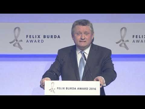 Show-Highlights. Felix Burda Award 2016