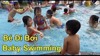 Bé Đi Bơi Gold Sea Đi Tắm Bể Bơi Baby Swimming Gold Sea Swimming Pool