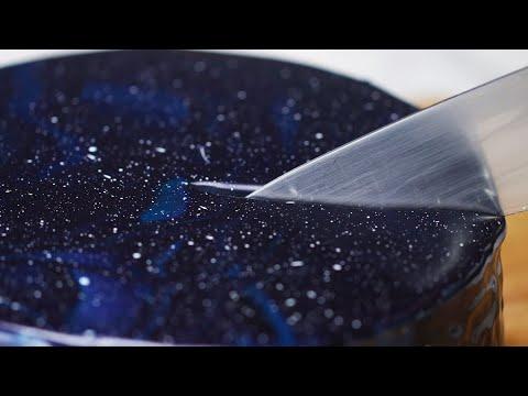 Galaxy Mirror Glaze Cake ? Tasty Recipes