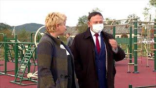 При поддержке депутатов открылись две площадки в сёлах Ясное и Кролевцы