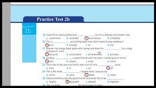 اجابات Work book practice test 2 B للصف الثالث الثانوي