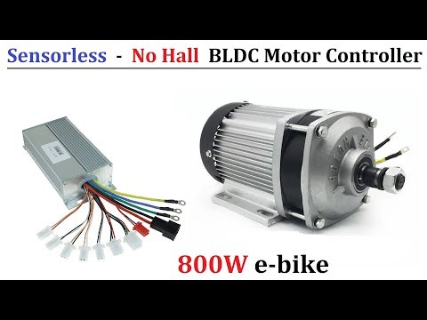Wooow ! 48v to 64v 800w Brushless DC Motor Controller - Run BLDC Motors without Hall Sensor