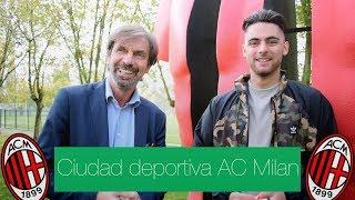 Así es la CIUDAD DEPORTIVA del AC MILAN | Rafael Escrig