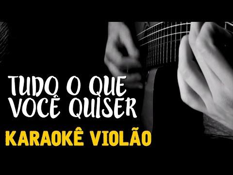 Baixar Tudo o que voce quiser - Luan Santana -  karaokê Voz e Violão