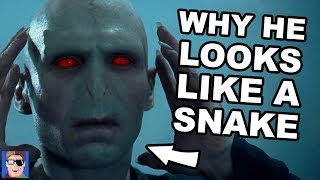 Why Voldemort Looks Like A Snake | Harry Potter Theory