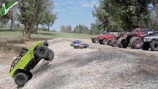 Epic Crawling Comeptition 2 - Axial vs Summit vs Redcat vs Vaterra vs Slash vs Sumo vs Losi vs Tank