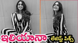 Tollywood actress Ileana looks beautiful in her latest pho..