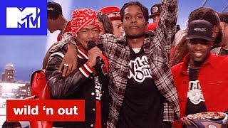 A$AP Rocky & the Mob Return and Justina Valentine Bars Out | Wild 'N Out | #Wildstyle