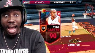 NEW VINCE CARTER DUNKING & BALLIN! NBA Live Mobile 16 Gameplay Ep. 21