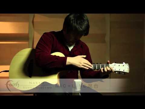 Faith FKV Naked Series Venus Cutaway Electro Acoustic Guitar